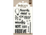 Bo Bunny Essentials Stamp Amen