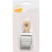 Amy Tan Finders Keepers Rotary Phrase Stamp, 12 Phrases