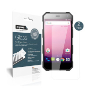 Nomu S10 Pro Screen Protector - 2x dipos Flexible Glass 9H Display Protection