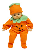 My Brittany's Pumpkin Costume For American Girl Dolls and Bitty Baby