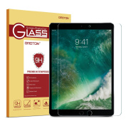 iPad Pro 10.5 Screen Protector, OMOTON Tempered-Glass Screen Protector with [9H Hardness] [Premium Crystal Clear] [Scratch-Resistant] [Bubble-Free Installation] for iPad Pro 27cm