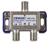 Spaun VBE 2 PD 2-way Splitter, 842224