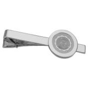 Auburn Silver Tie Bar