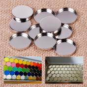 10pcs 26MM Empty Round Tin Pans Eyeshadow Palette Powder Pot Storage