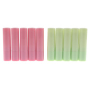 Sharplace 10 Pieces 4g Empty Lip Balm DIY Tubes Cosmetics Containers Lipstick Bottles