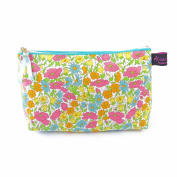 Liberty Fabric Cosmetic Bag in Poppy and Daisy