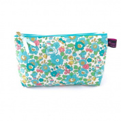 Liberty Fabric Cosmetic Bag in Betsy Turquoise