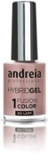 Andreia Hybrid Gel - 2 Steps and No Lamp Required Long Lasting and Easy Removal - Fusion Colour H9