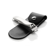 Nail Clippers Stainless Steel Fingernail and Toenail Nail Cutter Best Nail Care for Men and Women - Silver