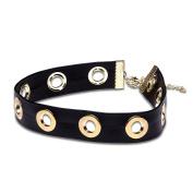 Leather Chocker Necklace Adjustable Punk Hip Hop Lolita Jewellery Gift For Women Girl