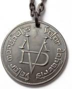 Valar Morghulis 80cm Necklace Game of Thrones Faceless Man Coin HBO Arya Stark