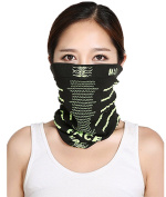 Smile YKK Outdoor Fashion Sport Magic Scarf Bandanas Tube Ski Face Masks