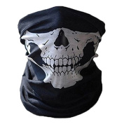 Smile YKK Multi-functional Outdoor Sport Bandanas Tube Scarf Ski Mask