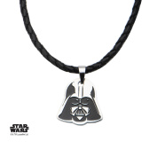 Star Wars Darth Vader Stainless Steel Pendant Necklace w/Gift Box by Superheroes Brand