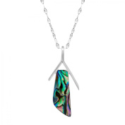 Halitosis Shell Pendant Necklace in Sterling Silver