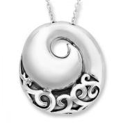Evert deGraeve Spiral Pendant Necklace in Sterling Silver