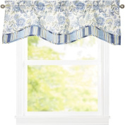 Traditions by Waverly Navarra Floral 130cm Curtain Valance