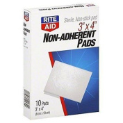 Rite Aid Non-Adherent Pads 10 Pads
