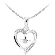 Her Special Day Jewellery CZ Sterling Silver Pendant