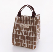 Prevently Brand New Cute Animal Print Thermal Insulated Lunch Box Tote Cooler Bag Bento Pouch Lunch Container