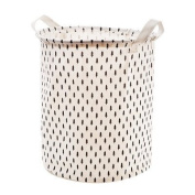 Dirty clothes storage basket folding waterproof laundry basket toy storage bucket , small tree patterns