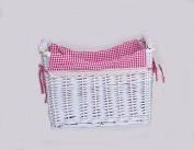 Wicker basket home furnishings environmental finishing baskets crafts , 003