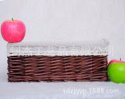Pastoral Willow basket woven straw woven basket display box