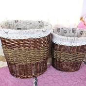 Handmade dirty laundry basket toy hamper storage basket clothes hamper