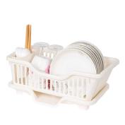 WENZHE Kitchen Storage Rack Spice Cooker Shelf Tableware Drain Basket Plastic Multifunction, 445 * 260 * 180mm