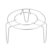 Tenlacum Metal Steamer Rack Stand Home Round Food Steaming Rack Stand Stainless Steel Steamer Basket Kitchen