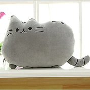 Ulable Fluffy Soft Cute Cat Cushion Embracing Pillow for Office