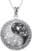 Jewellery Trends Sterling Silver Yin-yang Necklace