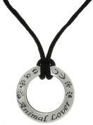 Jewellery Trends Sterling Silver Animal Lover Ring Pendant Necklace