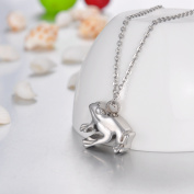 My Frog Prince Cremation Jewellery Keepsake Memorial Urn Necklace Ash Holder