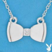 Playboy Necklace Bunny Bow Tie Pendant White Trash Charms Bowtie WTC WTC4PB RARE