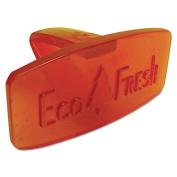 Eco Fresh Bowl Clip, Mango Scent, Orange, 12/Box