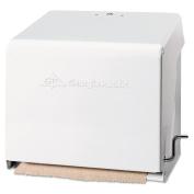 Georgia Pacific Mark II Crank Roll Towel Dispenser, 10 3/4 x 8 1/2 x 10 3/5, White