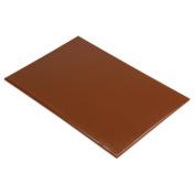 Hygiplas Standard High Density Brown Chopping Board 12X450X300mm Cutting Kitchen