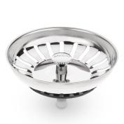 Savisto Premium Stainless Steel Kitchen Sink Plug Strainer / Drainer