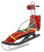 KHW Snow Comfort Sledge 117 cm red red Size:117x50x30 cm
