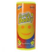 Scrub Daddy Scratch-Free Scrubbing Sponge, 10cm Diameter, Yellow, Polymer Foam, 6/Pack