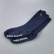 Gogogo Lovely Unisex Baby Combed Cotton Anti-slip Socks Knee High Cat Ears Sock Dark Blue -