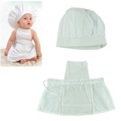 GOOTRADES Cute Baby White Cook Costume Photos Photography Prop Newborn Hat