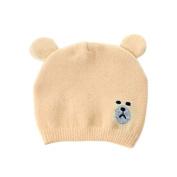 Kids Baby Little Bear Hat Soft Cute Knit Cap Toddler Infant Autumn Winter Warm Beanie Bonnet Minzhi