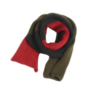Dosige Multicolor Knitting Warm Neckerchief Children Long Winter Thick Scarf - Style 4