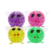 Byste Squeeze Big Pig 7cm Bead Stress Relief Ball Sticky Toys For Children Adults,1PC
