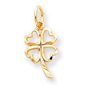 Roy Rose Jewellery 10K Yellow Gold Shamrock Charm