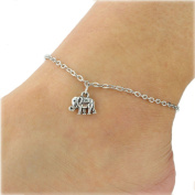 Cdet Anklets Chain Women Lovely Elephant Pendant Anklet Bracelet Barefoot Sandal Girl Foot Jewellery Accessories Love Gift