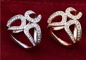 TFXWERWS Lady Fashion Charming 3 Rings Scarf Clip Shawl Buckle