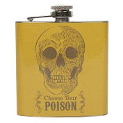 Choose Your Poison Hip Flask